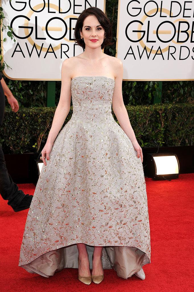Michelle Dockery Golden Globes 2014