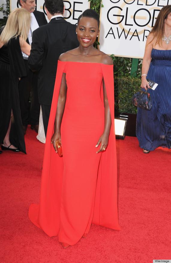 Lupita Nyongo Golden Globes 2014