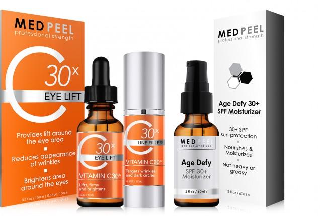 Medpeel Vitamin C30X Eye Lift Kit and Age Defy SPF30