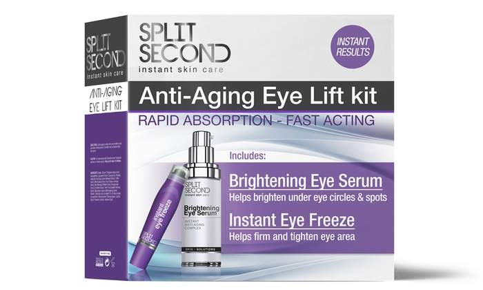 Groupon Deal: Split Second Anti-Wrinkle Eyelift Kit